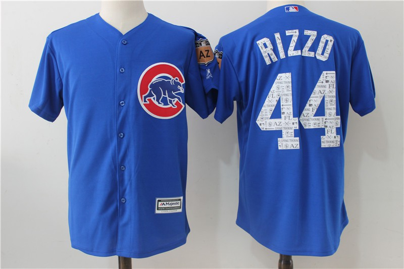 Anthony Rizzo Chicago Cubs Spring Training Baseball Player Jersey