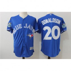 Josh donaldson toronto blue jays majestic 2017 spring training cool base player jerse