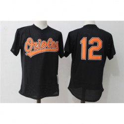 Roberto alomar baltimore orioles mitchell & ness cooperstown mesh batting practice jerse