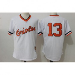 Manny machado baltimore orioles mitchell & ness cooperstown mesh batting practice jerse