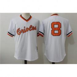 Cal ripken jr baltimore orioles mitchell & ness cooperstown mesh batting practice jerse