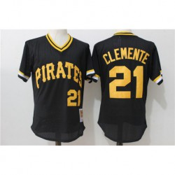 Roberto clemente pittsburgh pirates mitchell & ness 1982 cooperstown collection authentic practice jerse