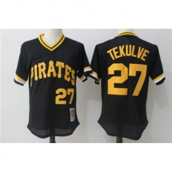 Kent tekulve pittsburgh pirates mitchell & ness 1982 cooperstown collection authentic practice jerse