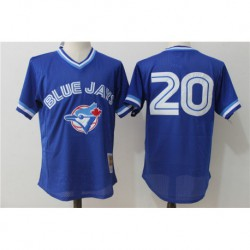 Josh donaldson toronto blue jays cooperstown collection mesh batting practice jerse