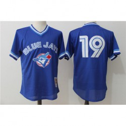 Jose bautista toronto blue jays cooperstown collection mesh batting practice jerse