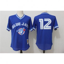 Roberto alomar toronto blue jays cooperstown collection mesh batting practice jerse