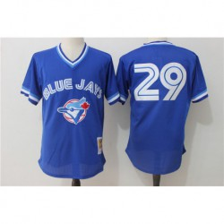 Joe carter toronto blue jays 1993 authentic cooperstown collection mesh batting practice jerse