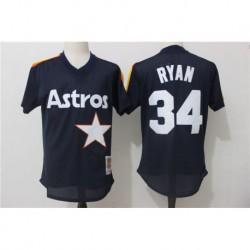 Nolan ryan houston astros mitchell & ness cooperstown mesh batting practice jerse
