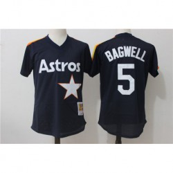 Jeff bagwel houston astros mitchell & ness cooperstown mesh batting practice jerse