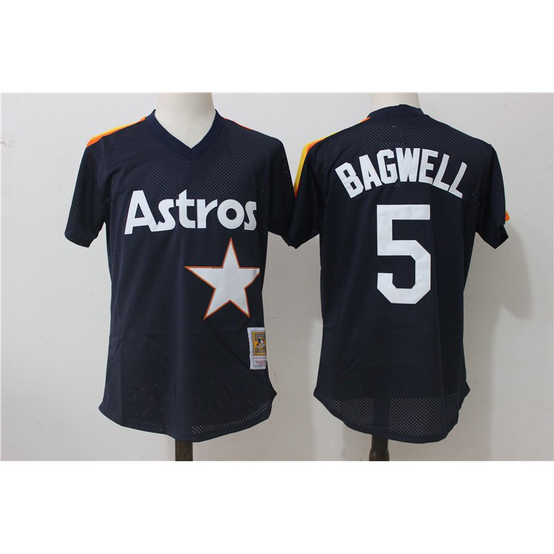 Cheap MLB Shirts From China,Best Cheap MLB Jersey Sites,Jeff Bagwel Houston Astros Mitchell & Ness Cooperstown Mesh Batting Pra