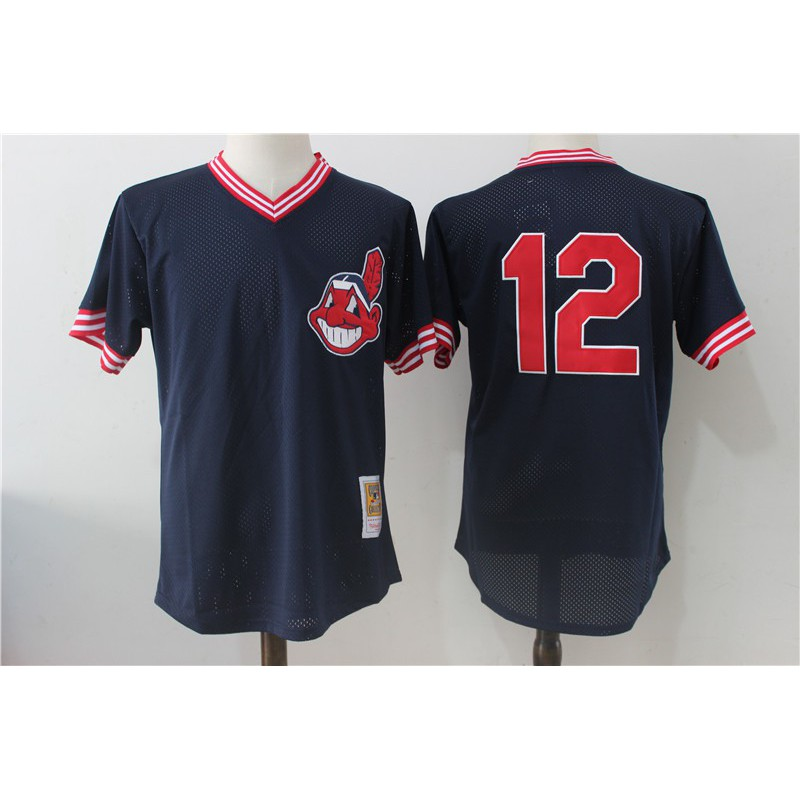 MLB Replica Jersey Sizing,MLB T Shirts China,Francisco Lindor Cleveland Indians Mitchell & Ness Cooperstown Collection Mesh Bat