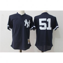 Bernie williams new york yankees 1995 authentic cooperstown collection mesh batting practice jerse