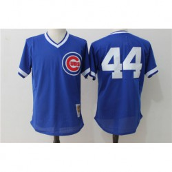 Anthony rizzo chicago cubs cooperstown authentic collection throwback replica jerse