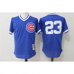 Ryne sandberg chicago cubs cooperstown authentic collection throwback replica jerse