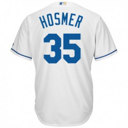 Joe 35eric hosmer majestic youth official cool base player jersey - white,kansas city royal