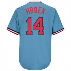 Joe 14kent hrbek minnesota twins majestic cooperstown collection cool base replica player jersey - light blue,minnesota twin