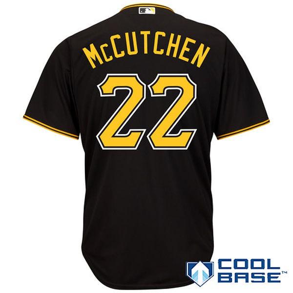 MLB Shop Jersey Sale,Cheap MLB Jersey Shirts,JOE 22 Andrew McCutchen Pittsburgh Pirates Majestic Cool Base Player Jersey - Blac