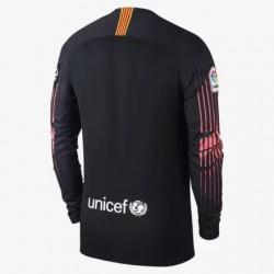 2018-2019 barcelona black goalkeeper long sleeve soccer jerse