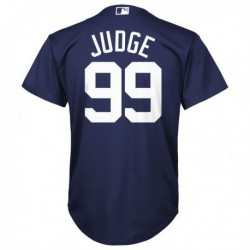 Joe 99 aaron judge new york yankees majestic youth cool base player jersey - navy,new york yankee