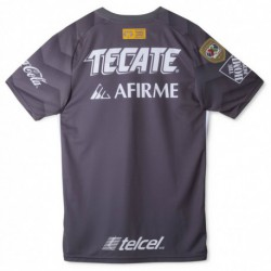 Tigres uanl third away gray soccer jersey 2018-201
