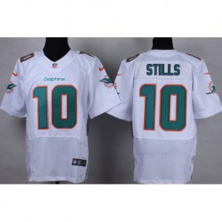 Kenny stills miami dolphins fanatics authentic autographed tealgame jersey,green/Whit
