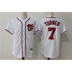 Trea turner washington nationals majestic cool base player jerse