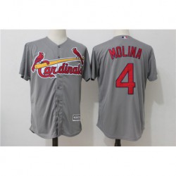 Yadier molina saint louis cardinals majestic cool base player jerse