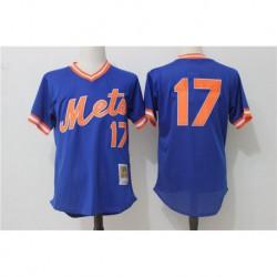 Keith hernandez new york mets mitchell & ness cooperstown mesh batting practice jerse