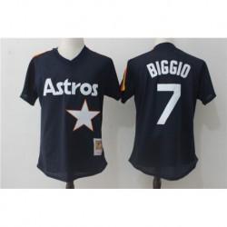 Craig biggio houston astros mitchell & ness cooperstown mesh batting practice jerse