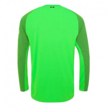 Liverpool Green Goalkeeper Kit Green Candy Liverpool Shirt 2018 2019 Liverpool Green Goalkeeper Long Sleeve Soccer Jersey