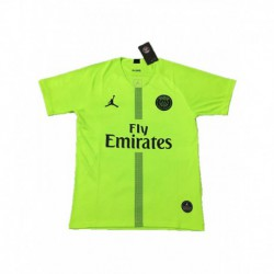 2018-2019 paris jordan ucl green goalkeeper soccer jerse
