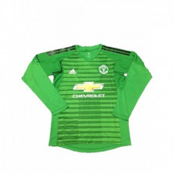 2018-2019 manchester united green goalkeeper long sleeve soccer jerse