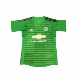 2018-2019 manchester united green goalkeeper soccer jerse