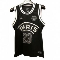 23 Jordan X Paris Saint-germain Black Vest 2018-201
