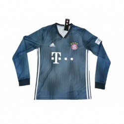2018-2019 bayern munchen third away long sleeve soccer jerse