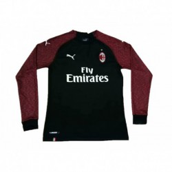 2018-2019 AC Milan Third Away Long Sleeve Soccer Jerse