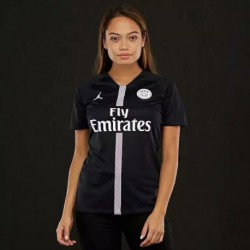 2018 paris ucl jordan black women's soccer shir