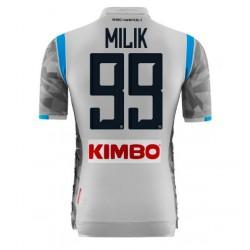 99 MILIK Napoli Soccer Jersey 2018-201
