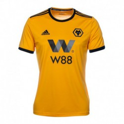 2018-2019 Wolves NEVES Home Soccer Jerse