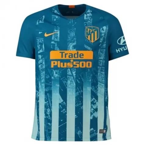 Atletico Madrid 2018 Kit,Atletico Madrid Shirt 2018,JUANFRAN Atletico Madrid Third Away Soccer Jersey 2018-2019