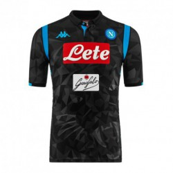 Napoli away black soccer jersey 2018-201