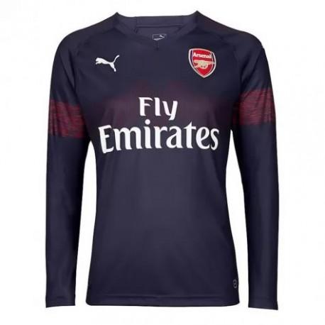online store c6504 d1909 Buy Arsenal Shirt Online,Arsenal Champions League Shirt,34 XHAKA Arsenal  Away Long Sleeve Soccer Jersey Shirt 2018-2019