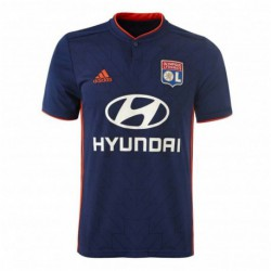 Lyon away black soccer jersey 2018-201