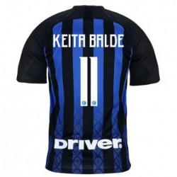 KEITA Balde Inter Milan Home Blue/Black soccer jersey 2018-201