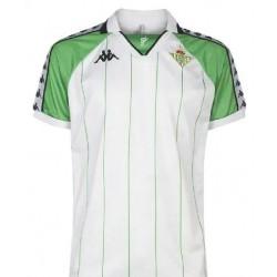 Real betis white retro soccer jersey 2019-202