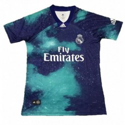 2018-2019 Real Madrid Acid Blue EA Sports Special Jersey Shir