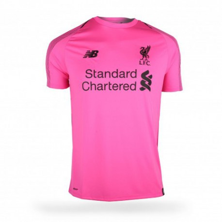 purchase cheap c0960 628ee Liverpool FC Shop Liverpool One,Pink Liverpool Goalkeeper Kit,2018-2019  Liverpool Pink Goalkeeper Soccer Jersey