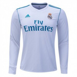 Real madrid home long sleeve jersey 2017-1